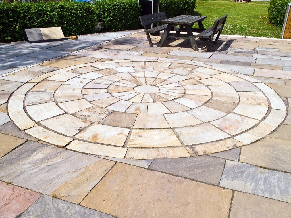 outdoor floor design for back yards